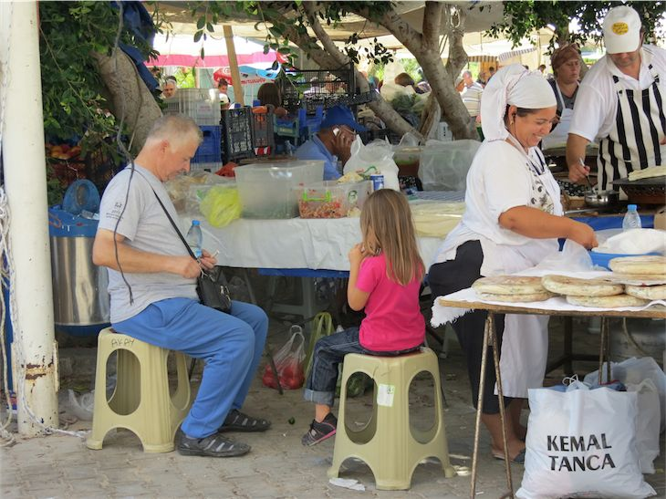 Thursday Pazar Farmers Market Yalikavak Bodrum Peninsula Turkey