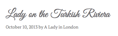 Lady in London Blogging about Yalikavak Turkey Bodrum Peninsula