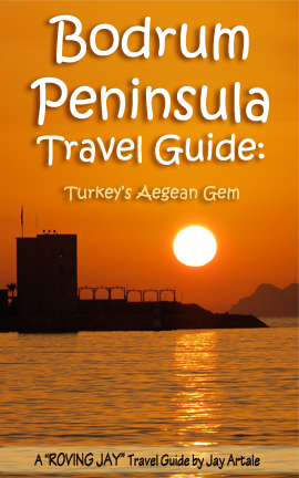 Front Cover of Roving Jay's Bodrum Travel Guide