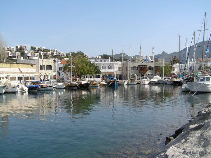 Yalikavak Bodrum Turkey Harbour Photos with Boats
