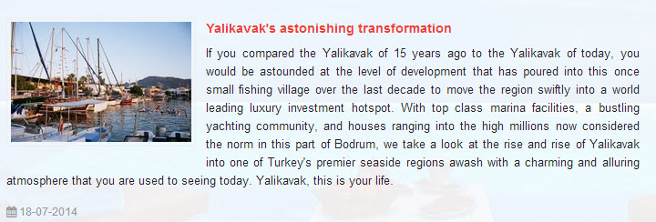 Yalikavak Astonishing Transformation